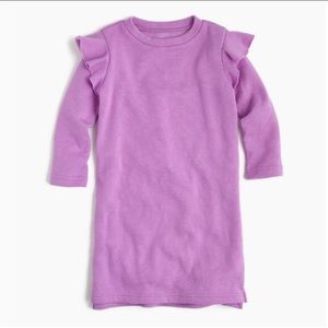 New! Crewcuts lilac dress girls sz 16 sweater